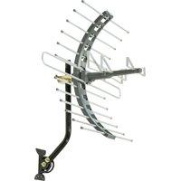 GE Pro Outdoor/Attic Mount Antenna, 70 Mile Range, VHF/UHF Channels, 29884