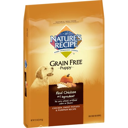 Natures Recipe Grain Free Puppy Chicken Sweet Potato Pumpkin