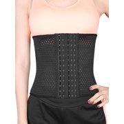 14aa9bd21ff00 Black M Size 6 Rows Postpartum Abdominal Belt Belly Wrapping Shapewear