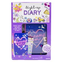 Just My Style Light-Up Diary Kit by Horizon Group USA