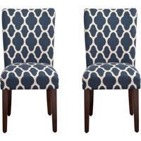 HomePop Parsons Dining Chairs (Set of 2), Quatrefoil