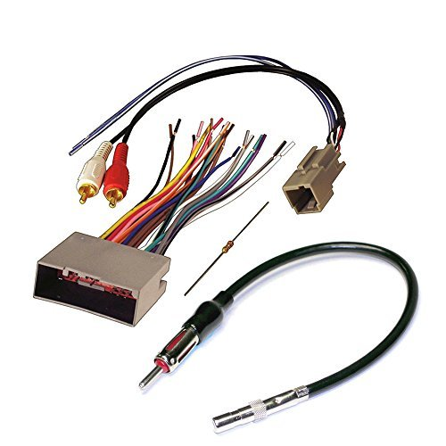 ford stereo wiring harness Wiring Harness for Porsche Radio audiophile car stereo cd player wiring harness wire aftermarket radio install for select ford lincoln and