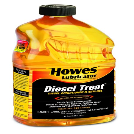 HOWES LUBRICANTS 103060 Diesel Fuel Additive,Amber,64 oz. G5573289