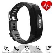 Tagital Fitness Tracker Smart Watch Band Heart Rate Monitor Bluetooth Wireless Waterproof IP67 Bracelet HR Wristband Pedometer Track Steps Sleep