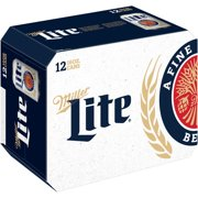 Miller Lite Beer, 12 pack, 16 fl oz