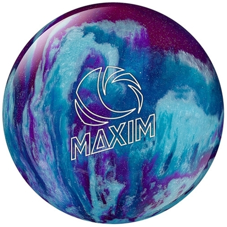 Ebonite Maxim Bowling Ball- Purple/Royal/Silver- 10