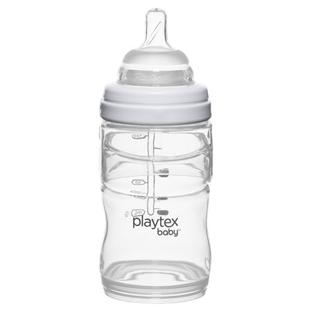 Playtex Baby Nurser With Drop-Ins Liners 4oz Baby Bottle 1-Pack Disposable Feeding Drop In Liners