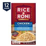 Rice-A-Roni Lower Sodium Rice & Vermicelli Mix, Chicken, 6.9 oz