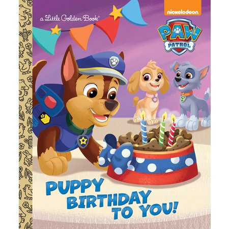 Puppy Birthday to You! (Paw Patrol) (Hardcover)