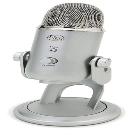 Blue Microphones Yeti USB Desktop Microphone (Best Toy Microphone Reviews)