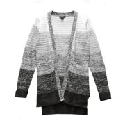 33647e2963772 Love Ombre Long Sleeve Cardigan Sweater Maroon or Grey Sz S Sz M A00159RM (S