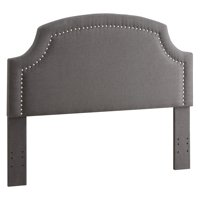 Linon Regency Headboard with Nailhead Accents, Multiple Sizes and Colors