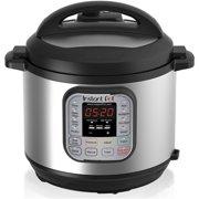 Instant Pot DUO60 6 Qt 7-in-1 Multi-Use Programmable Pressure Cooker, 6 Quart