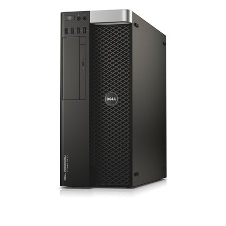 Dell Precision T5810 Workstation, Xeon E5-2680 v3 2.5GHz Twelve Core Processor, 4GB DDR4 Memory, 500GB Hard Drive, NVIDIA Quadro K600, Windows 10 Professional 64-bit Installed, (Refurbished)