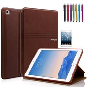 Mignova iPad Mini 4 Case - Ultra Slim Lightweight Smart Stand Cover Case With Auto Wake / Sleep for Apple iPad Mini 4 (2015 edition) 7.9 inch Tablet (2nd Brown)