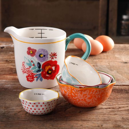 Measuring Bowls with 4-cup Measuring Cup