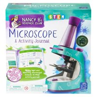 Educational Insights Nancy B's Science Club Microscope and Activity Journal