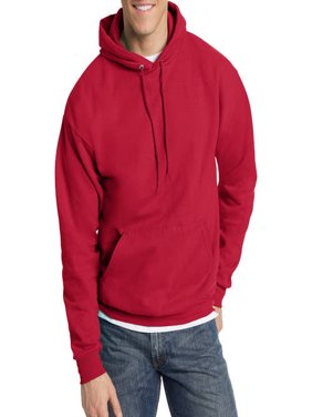 Hanes Big & Tall Men's EcoSmart Fleece Pullover Hoodie with Front Pocket
