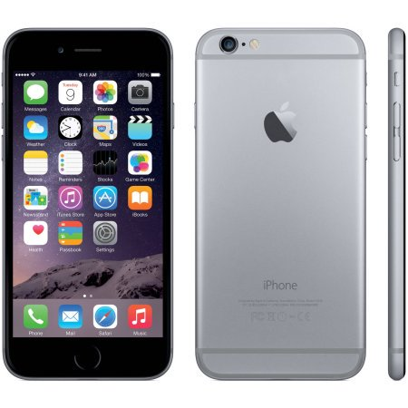 Refurbished Apple iPhone 6 16GB, Space Gray - Unlocked GSM ()