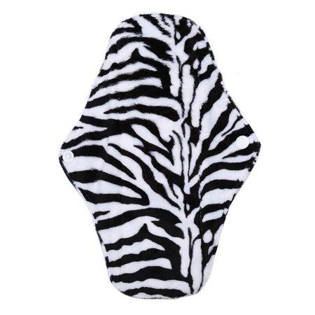 HURRISE  Reusable Washable Panty Liner Bamboo Charcoal Cloth Mama Sanitary Menstrual Pad(WSD6), Bamboo Charcoal Pad, Menstrual (770 Charcoal)