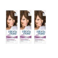 Clairol Nice n Easy Hair Color #755 Light Brown, UK Loving Care (Pack of 3)