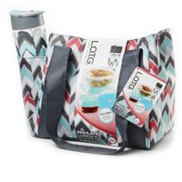 Unbranded L.O.T.G. Insulated Lunch Kit with Removable Ice Pack