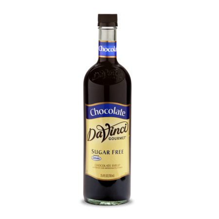 DaVinci Gourmet Sugar Free Syrup, Chocolate, 750ml Chocolate Vanilla Corn Syrup