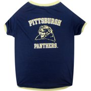 Pets First Collegiate Pittsburgh Panthers Pet T-shirt b5e950932