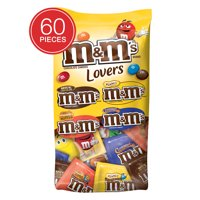 M&M's Chocolate Candy Fun Size Variety Assorted Mix Bag, 33.08 Oz., 60 Pieces