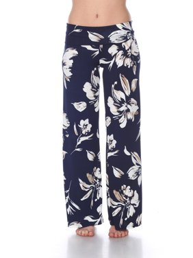 Women's Hawaiian Flower Palazzo Pants