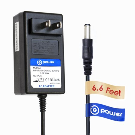 T-Power ( 6.6ft Long Cable ) AC Adapter fit FOR Belkin F5X007 XM Satellite Radio Receiver Boombox Replacement switching power supply cord charger wall plug -