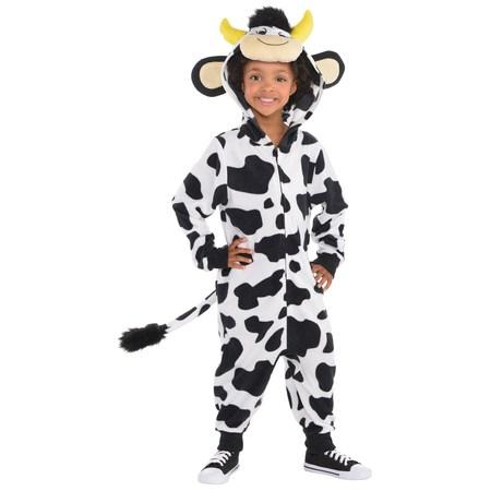 Child Cow Onesie Costume - Crow Costume