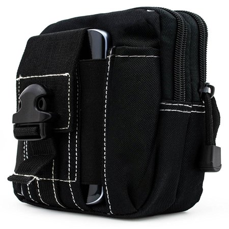 For LG Optimus G Pro E980 ~ XL Large Multipurpose Tactical Cover Smartphone Holster EDC Security Pack Carry Case Pouch Belt Waist Bag Gadget Money Pocket - -
