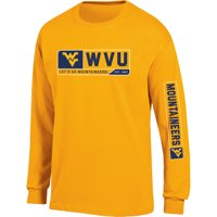 Men's Russell Gold West Virginia Mountaineers Team Long Sleeve T-Shirt
