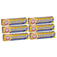 (6 Pack) Arm & Hammer Advance White Baking Soda & Peroxide Stain Defense Toothpaste, 6 oz