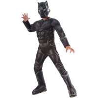 Marvel's Captain America Civil War Black Panther Deluxe Muscle Chest Child Halloween Costume