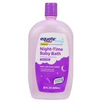 (2 Pack) Equate Tear Free Night-Time Baby Bath, 28 Fl Oz