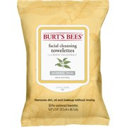 Burt's Bees Facial Cleansing Towelettes, White Tea Extract, 30 ct
