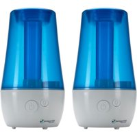PureGuardian H965 70-Hour Ultrasonic Cool Mist Humidifier, Table Top, 1-Gallon, 2 pack