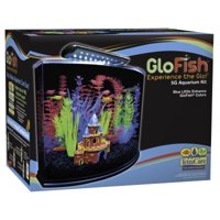 GLOFISH AQUARIUM KIT, 5GAL - BLUE LED