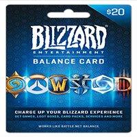 Battle.net Balance Store Gift Card $20, Blizzard Entertainment [Digital Download]