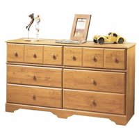 South Shore Little Treasures 6-Drawer Double Dresser, Multiple Finishes