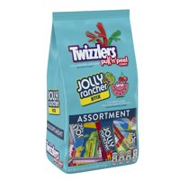 Twizzlers Pull 'n' Peel Jolly Rancher Assorted Chewy Candy, 51.9 Oz.