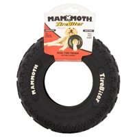 Mammoth Tire Biter, Dog Toy, Black, 8 Inches