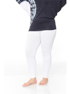 Women's Women's Plus Size Super-Stretch Solid Leggings