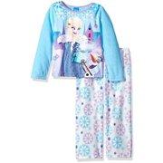 f9cc2e51591 Disney Girls  Frozen 2-Piece Fleece Pajama Set