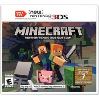 Minecraft New Nintendo 3DS Editions, Nintendo, Nintendo 3DS, 045496904517