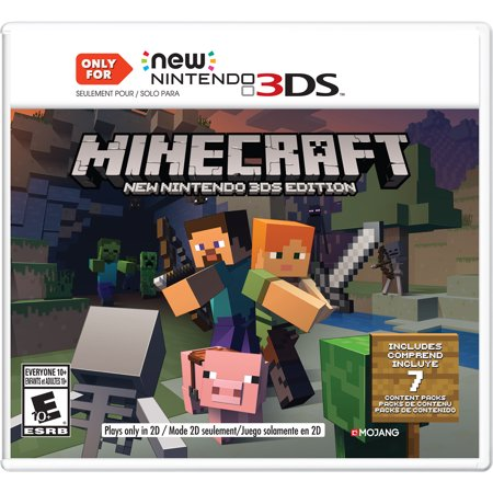 Minecraft New Nintendo 3ds Editions Nintendo Nintendo 3ds