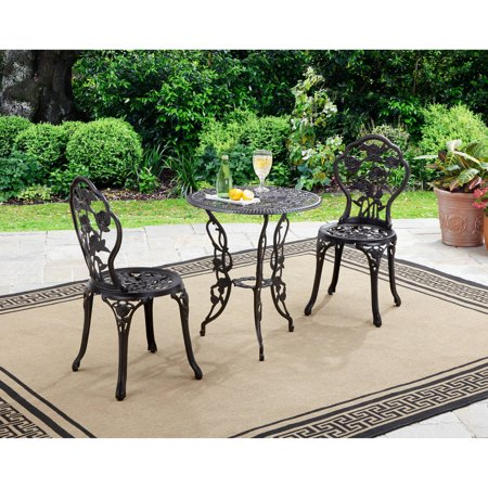 Better Homes and Gardens Rose 3-Piece Outdoor Bistro Set