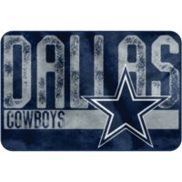 "NFL Dallas Cowboys ""Worn Out"" Mat, 20"" x 30"""